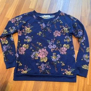 Hippie Rose long sleeve pullover